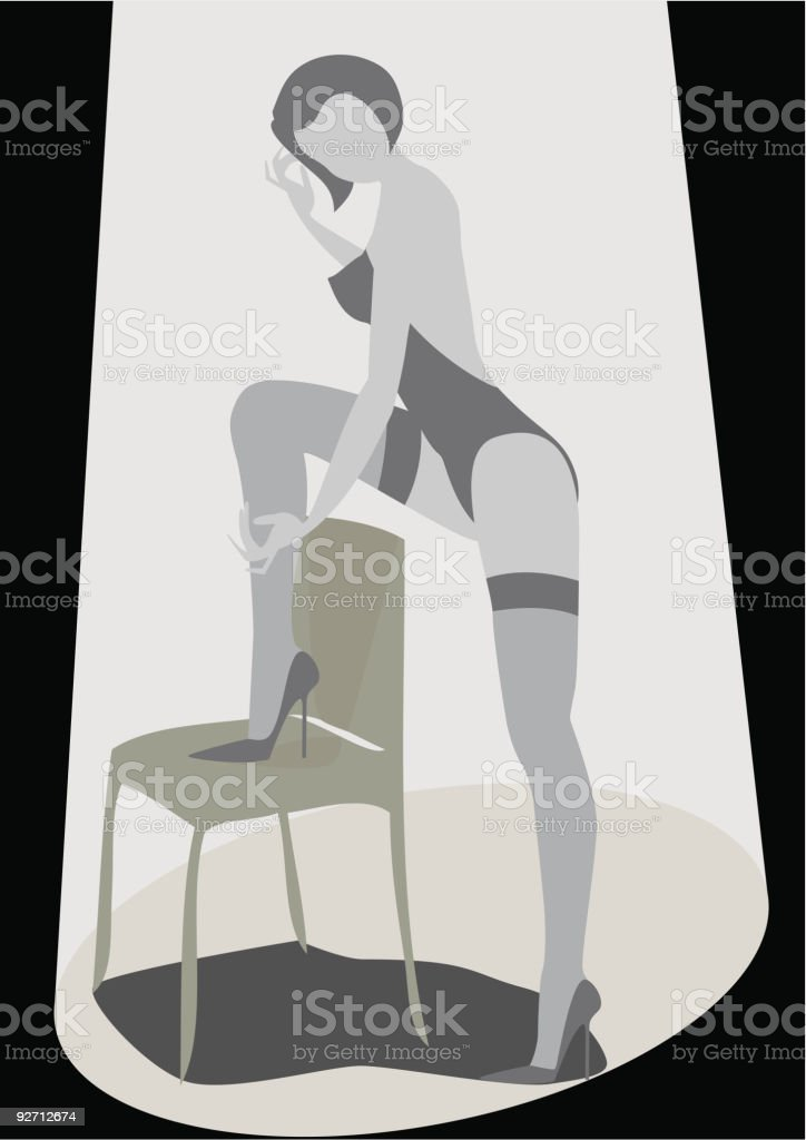 Sexy Show royalty-free stock vector art