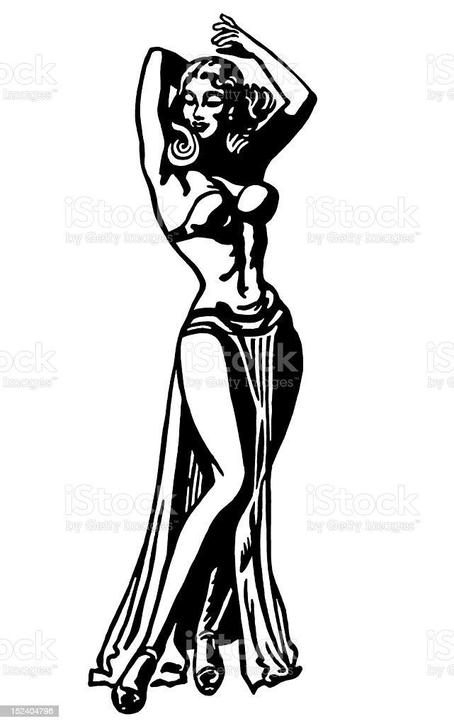 Sexy Woman royalty-free stock vector art