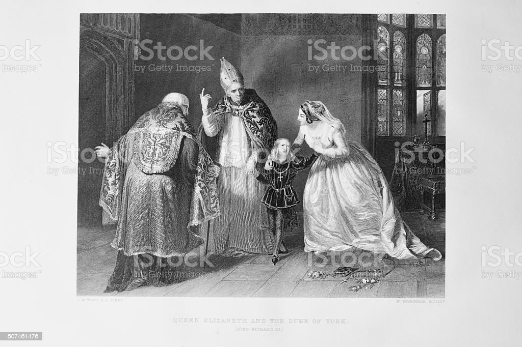 Shakespeare - King Richard III stock photo