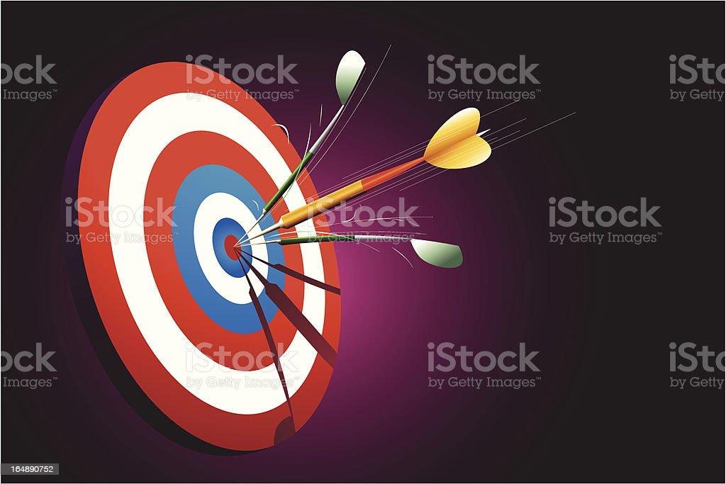 Sharp shooter royalty-free stock vector art