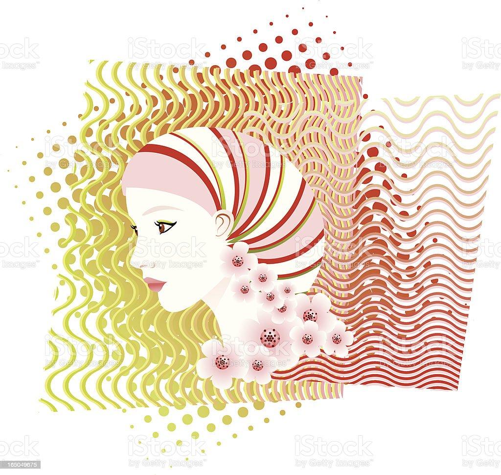 She royalty-free stock vector art