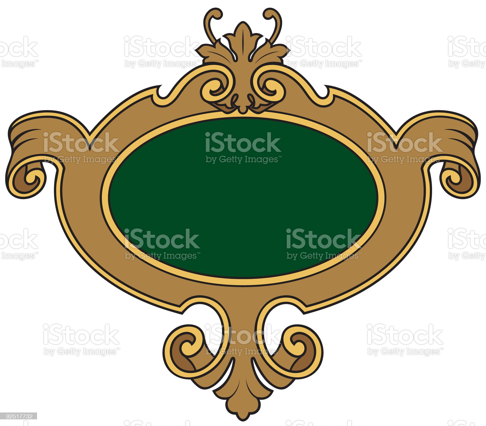 Shield 1571 royalty-free stock vector art