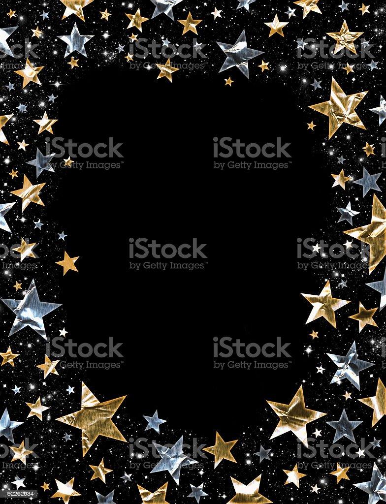 Shiny Stars vector art illustration