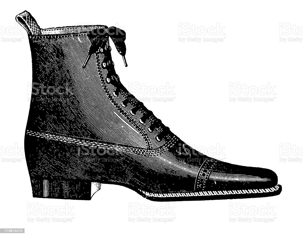 Shoe royalty-free stock vector art