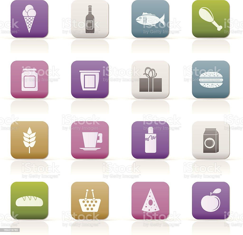 \'shop, food and drink icons - vector icon set\'