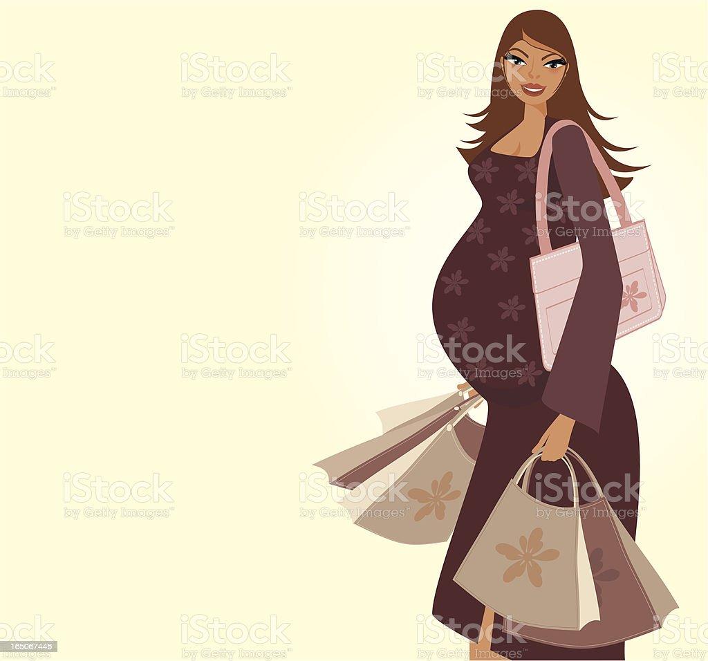 Shop till you POP! vector art illustration