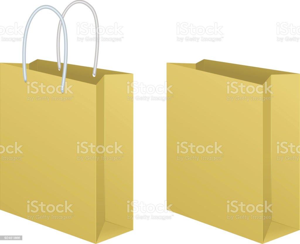 Shopping Bag 02 royalty-free stock vector art