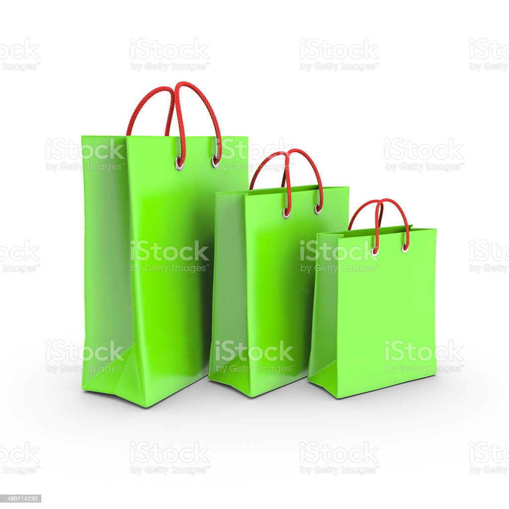 Shopping bag. royalty-free stock vector art