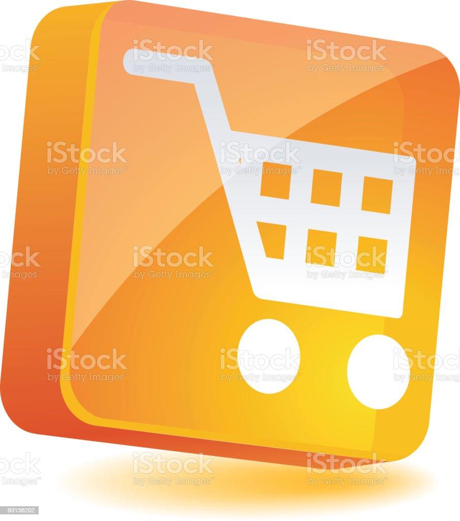 Shopping Icon. royalty-free stock vector art