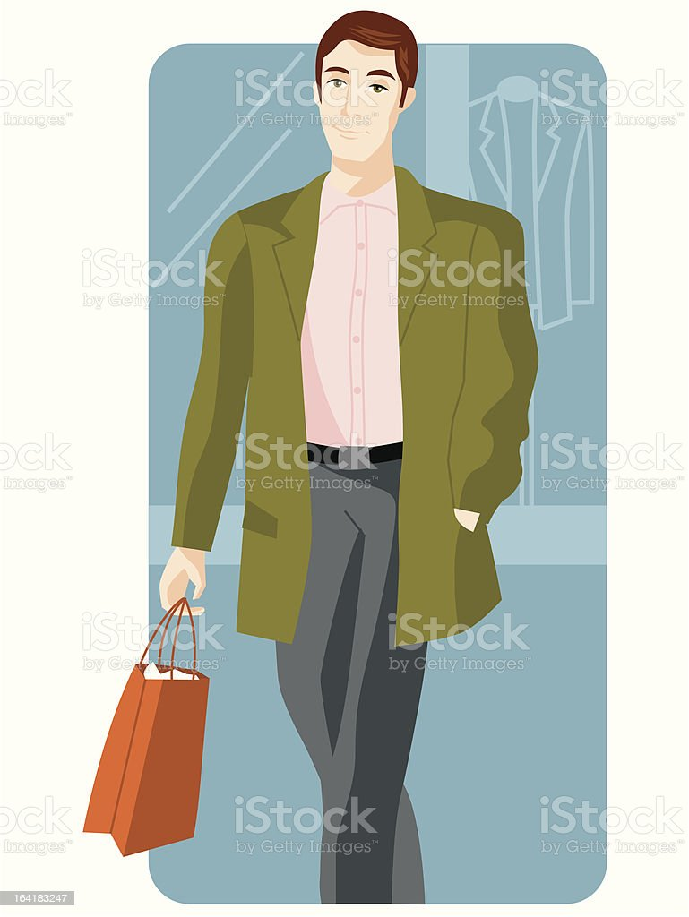 Shopping Illustration Series royalty-free stock vector art