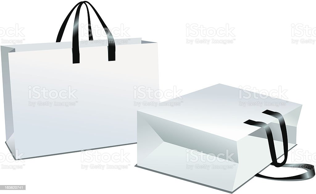 shopping package vector royalty-free stock vector art