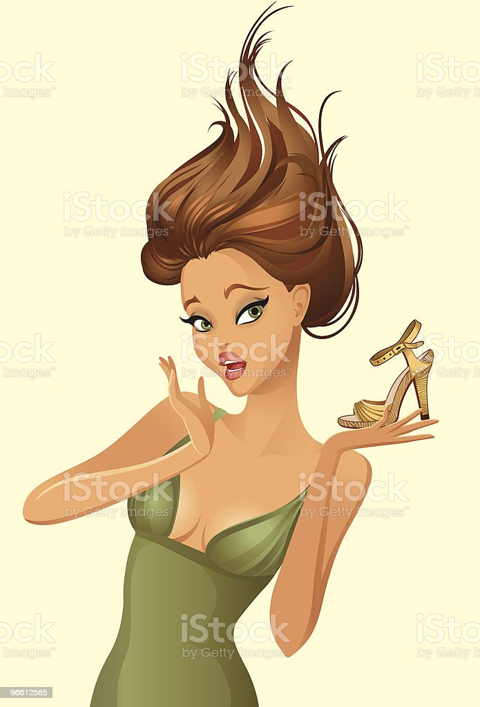 Shopping Sale royalty-free stock vector art