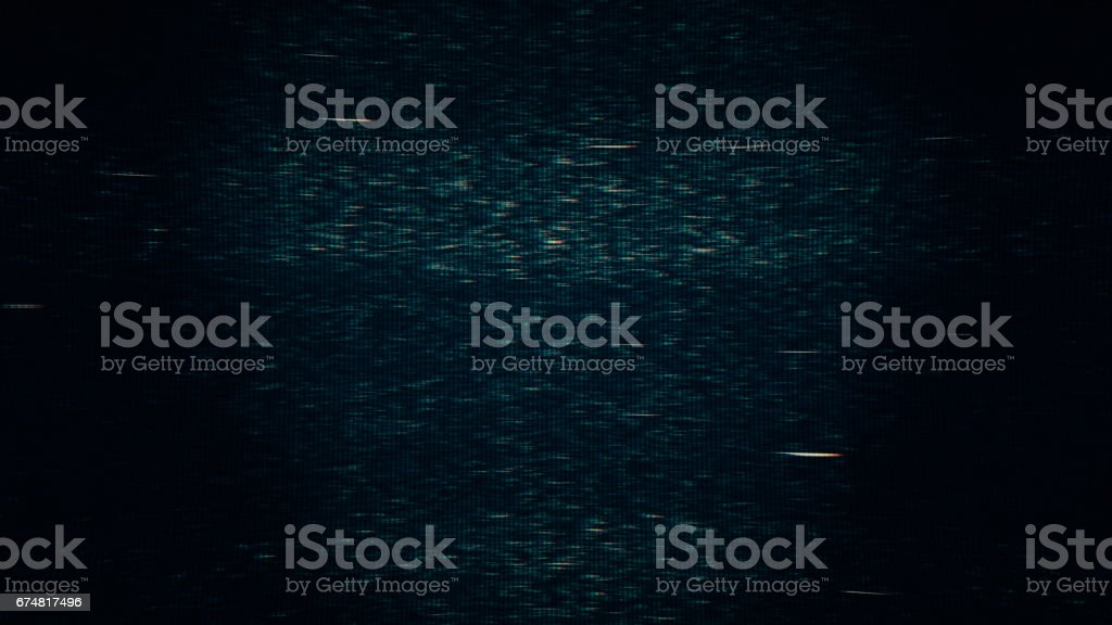 TV signal failing vector art illustration