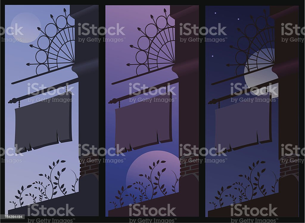 Signboard royalty-free stock vector art