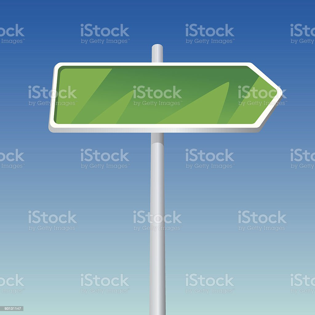 Signpost royalty-free stock vector art