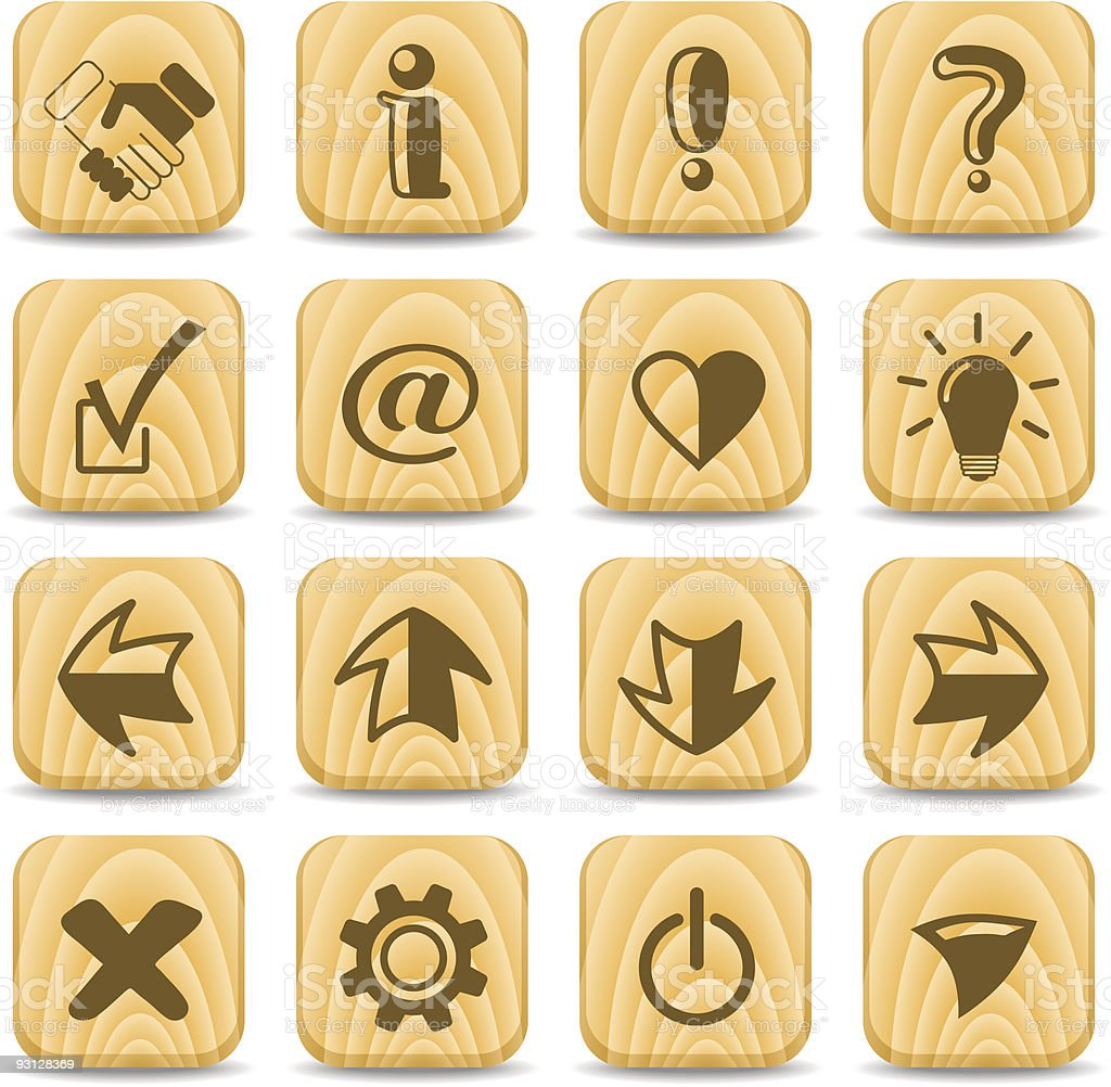 Signs icons royalty-free stock vector art