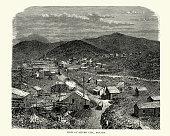 Silver City, Nevada in tthe 19th Century