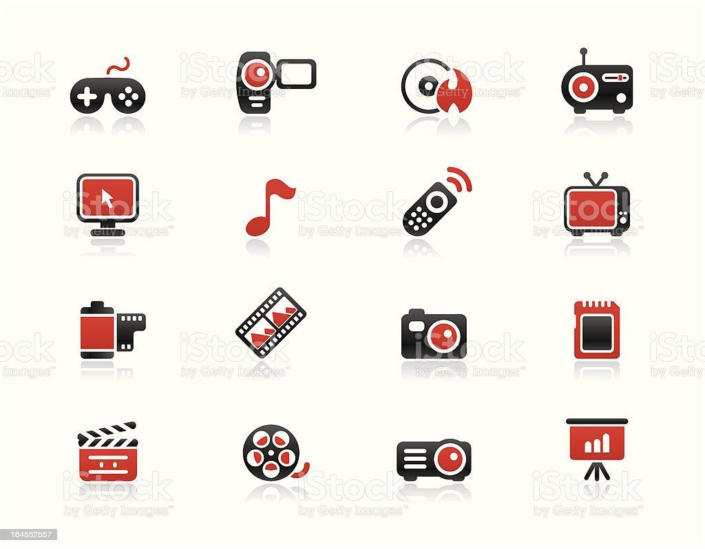 Simpico - Multimedia royalty-free stock vector art