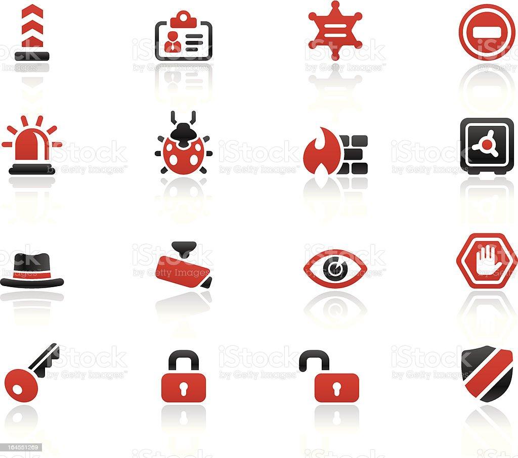 Simpico - Security royalty-free stock vector art