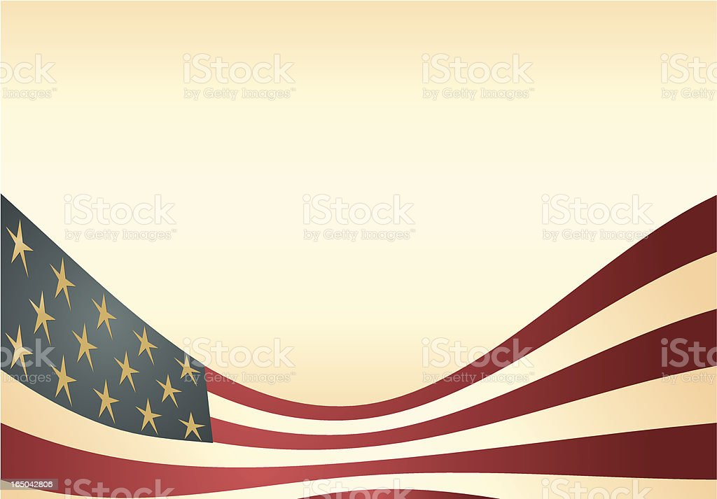 Simple Flag Background royalty-free stock vector art