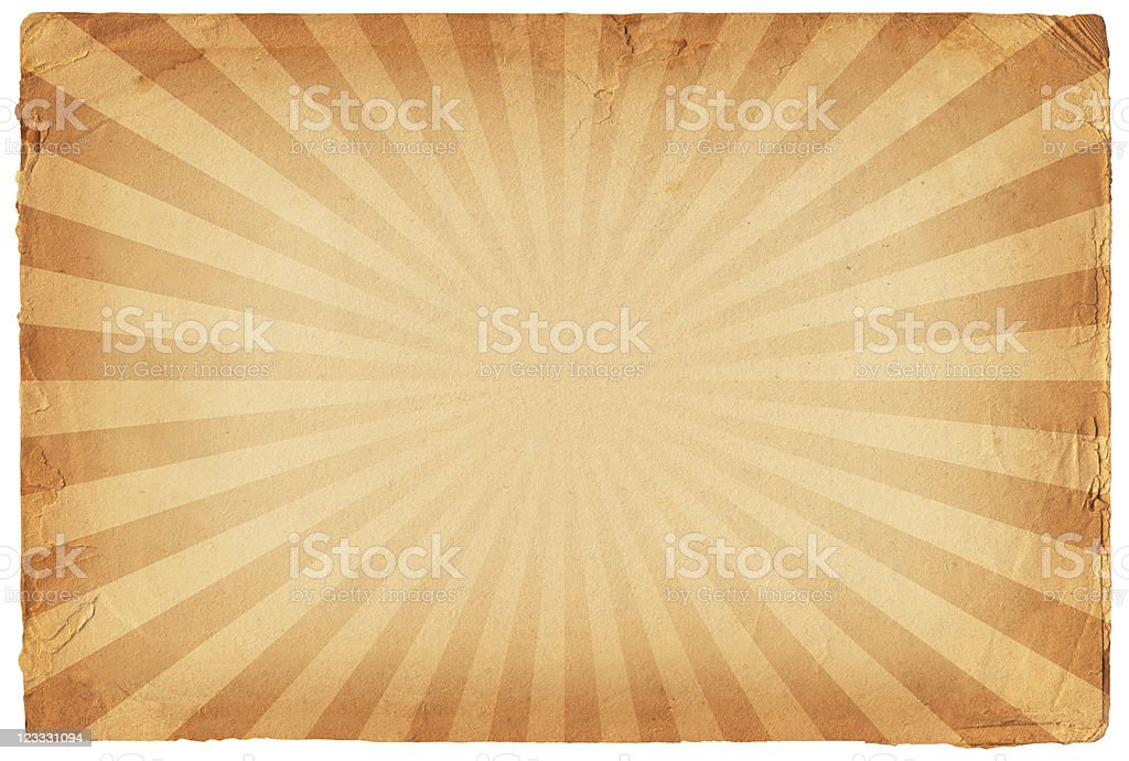 Simple glow on old paper Background royalty-free stock vector art