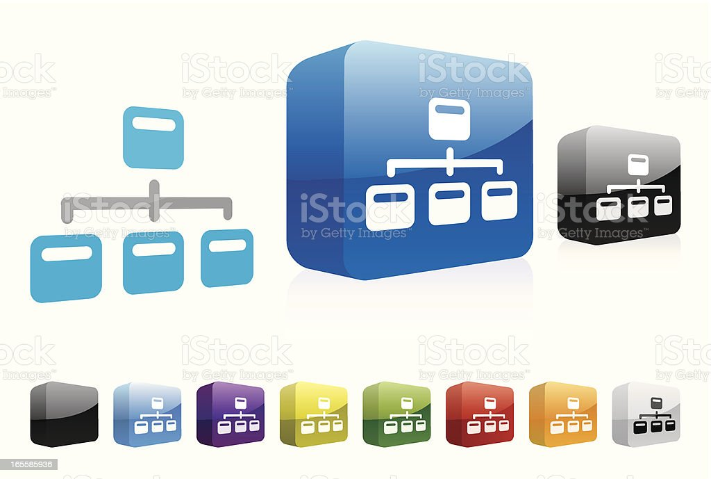 Site Map   3D Collection royalty-free stock vector art