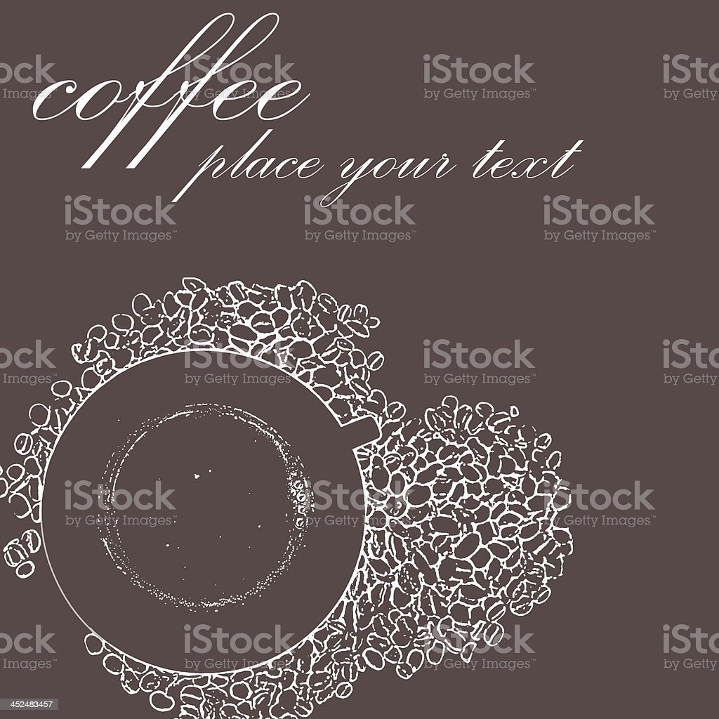 sketch cup of coffee royalty-free stock vector art