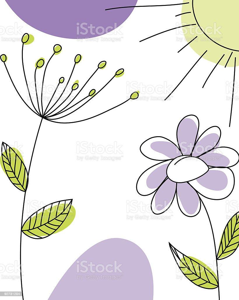 sketch greeting card royalty-free stock vector art