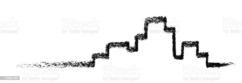 sketched city royalty-free stock vector art