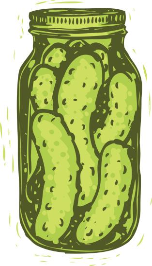 Pickle Clip Art  Vecto...