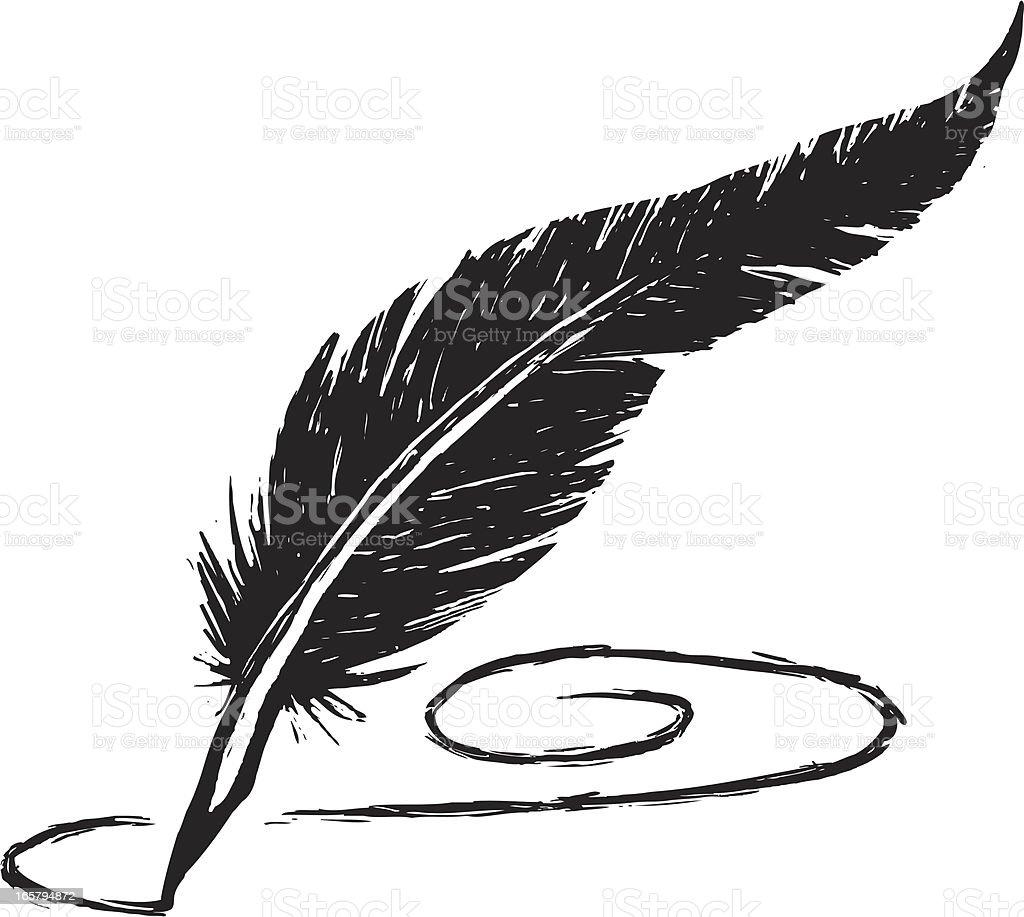 Quill Pen Clip Art, Ve...