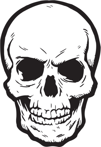 Skull Clip Art, Vector Images & Illustrations - iStock