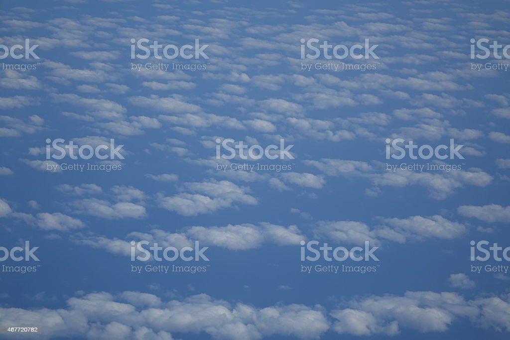 Sky over Madeira vector art illustration