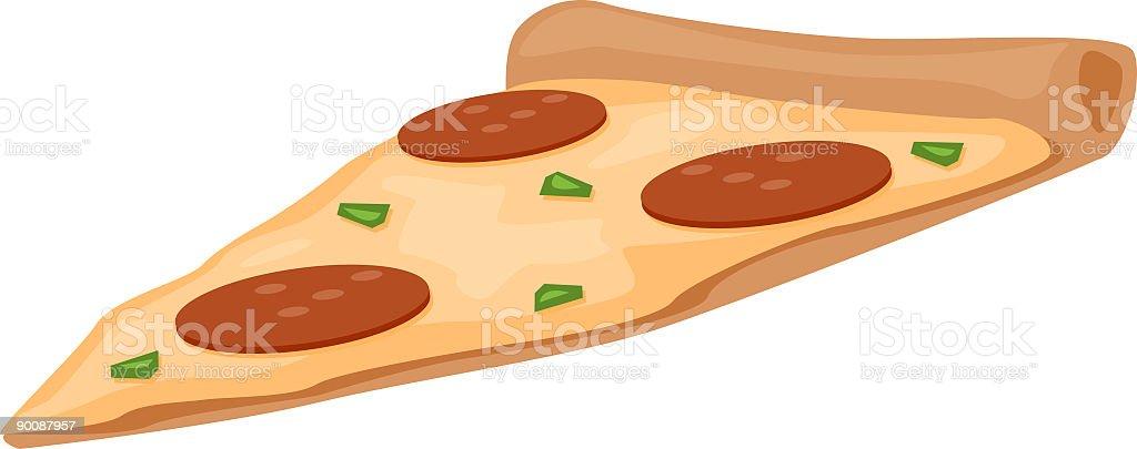 Slice of Pizza vector art illustration