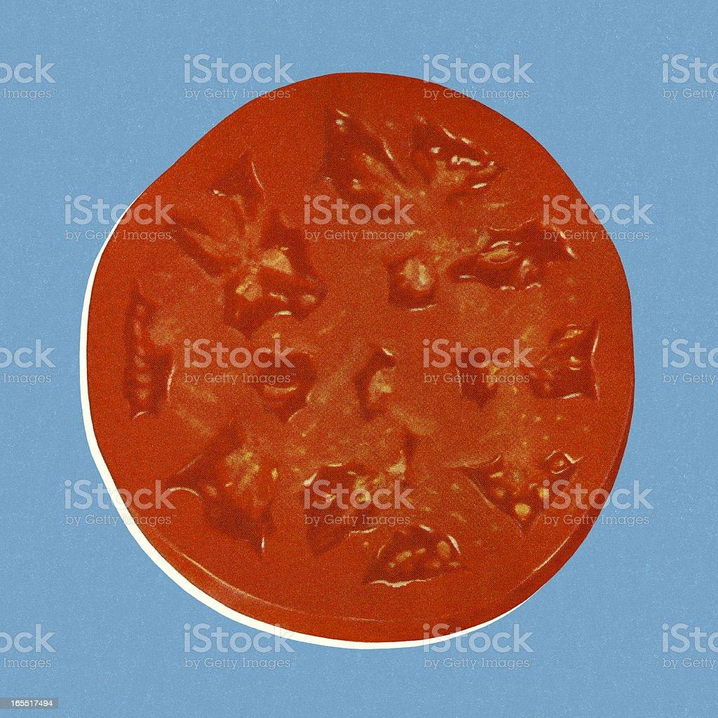 Slice of Tomato royalty-free stock vector art