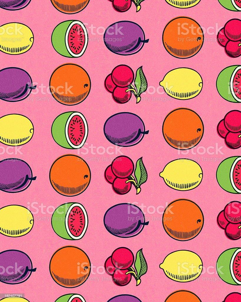 Slot Machine Fruit vector art illustration