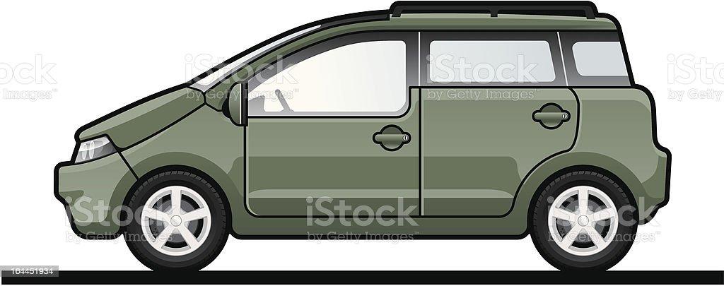 small car royalty-free stock vector art