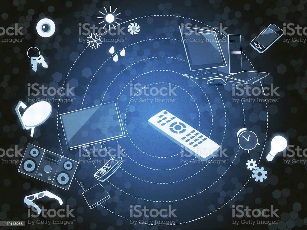 Smart Gadgets royalty-free stock vector art