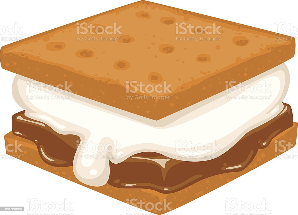 smore royalty-free stock vector art