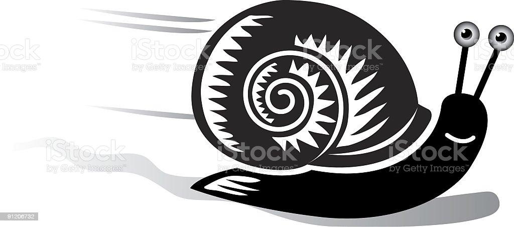 Snail royalty-free stock vector art
