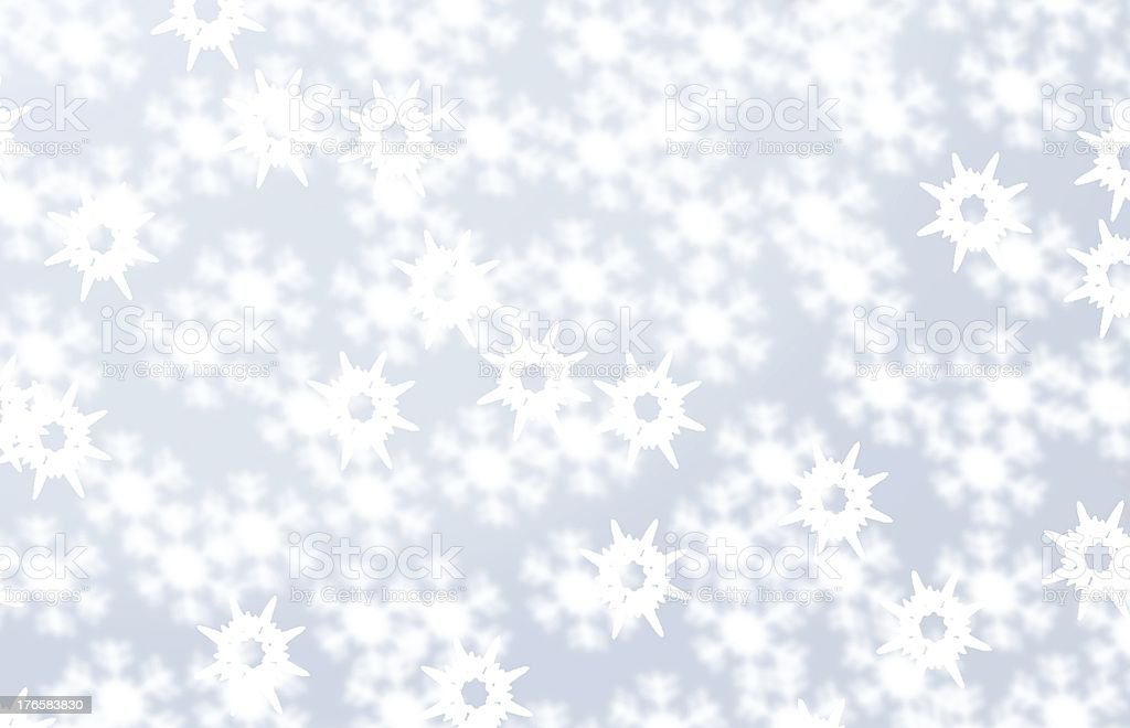 snow vector art illustration