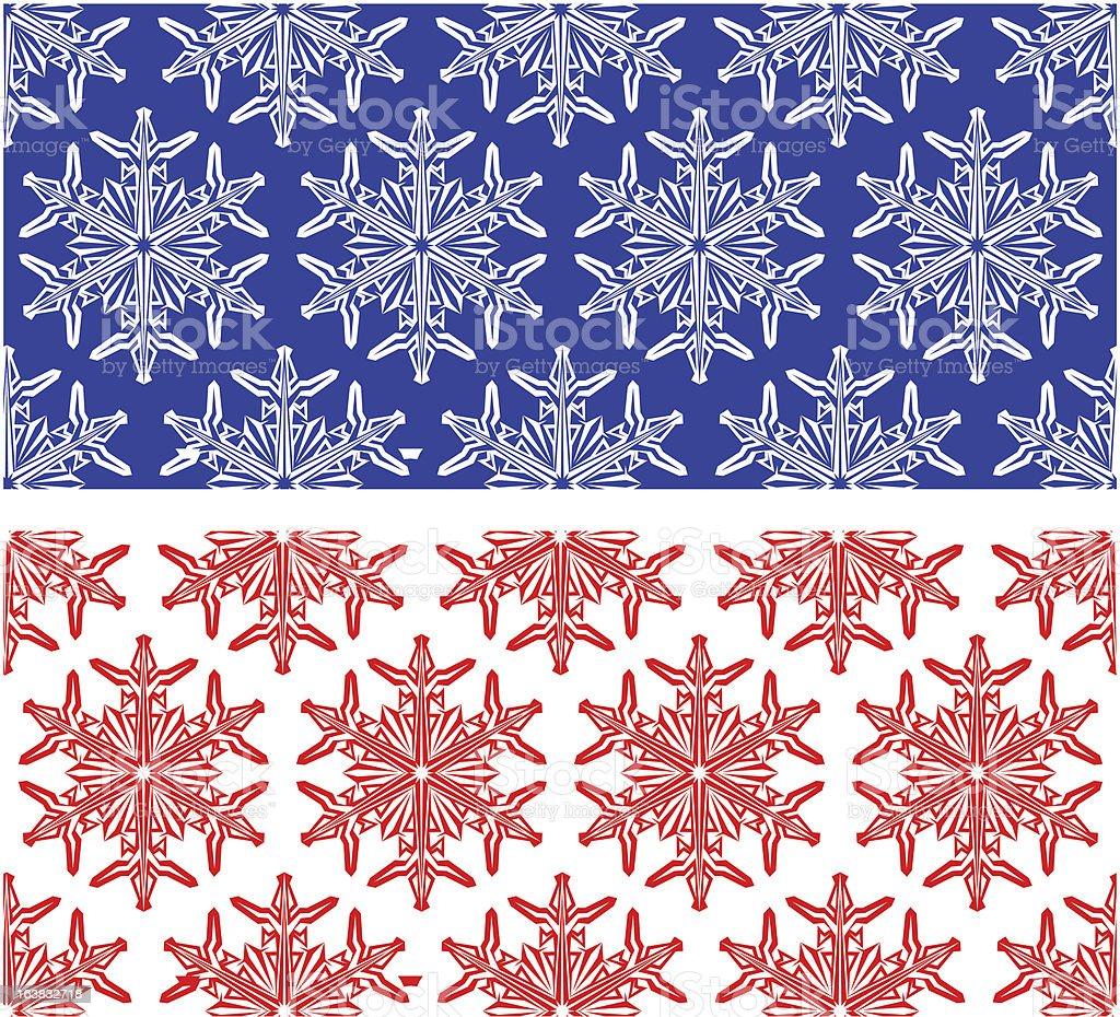 snowflakes ornament royalty-free stock vector art
