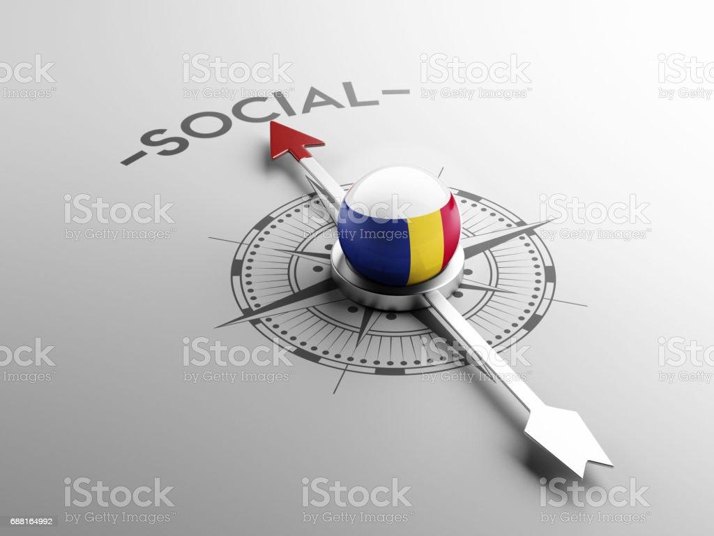 Social Concept vector art illustration