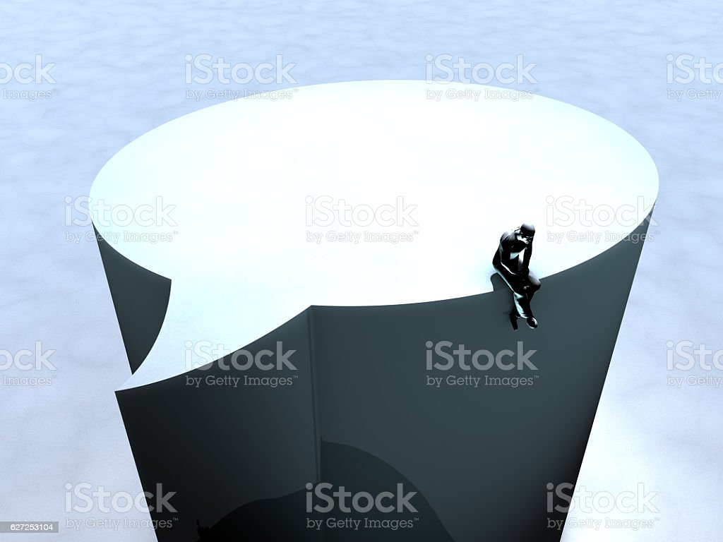 Social Media and Loneliness Theme vector art illustration