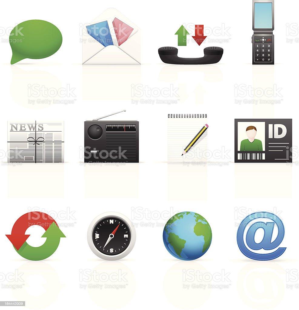 Social Media Icons - Set 2 royalty-free stock vector art