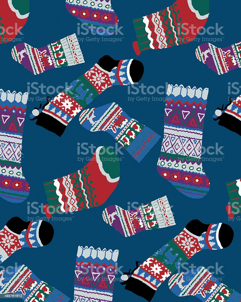 socks vector art illustration