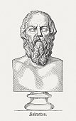 Socrates - Ancient Greek philosopher, published in 1878