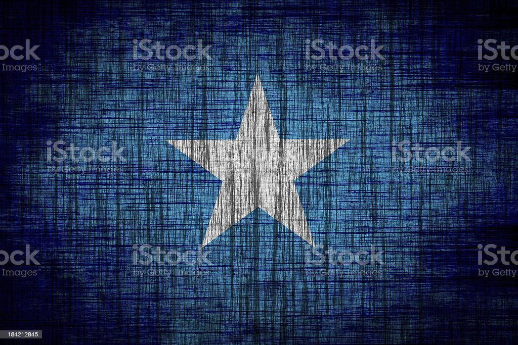 somalia flag  wood texture royalty-free stock vector art
