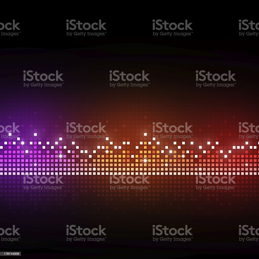 Sound  Equalizer royalty-free stock vector art