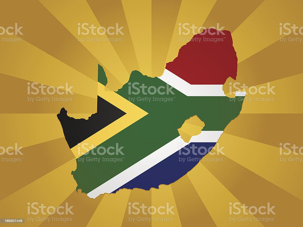 South Africa royalty-free stock vector art